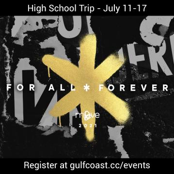 High School CIY Trip