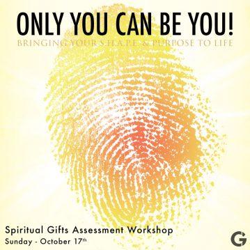 SPIRITUAL GIFTS ASSESSMENT WORKSHOP